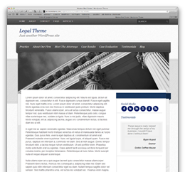 Elegant Legal Theme
