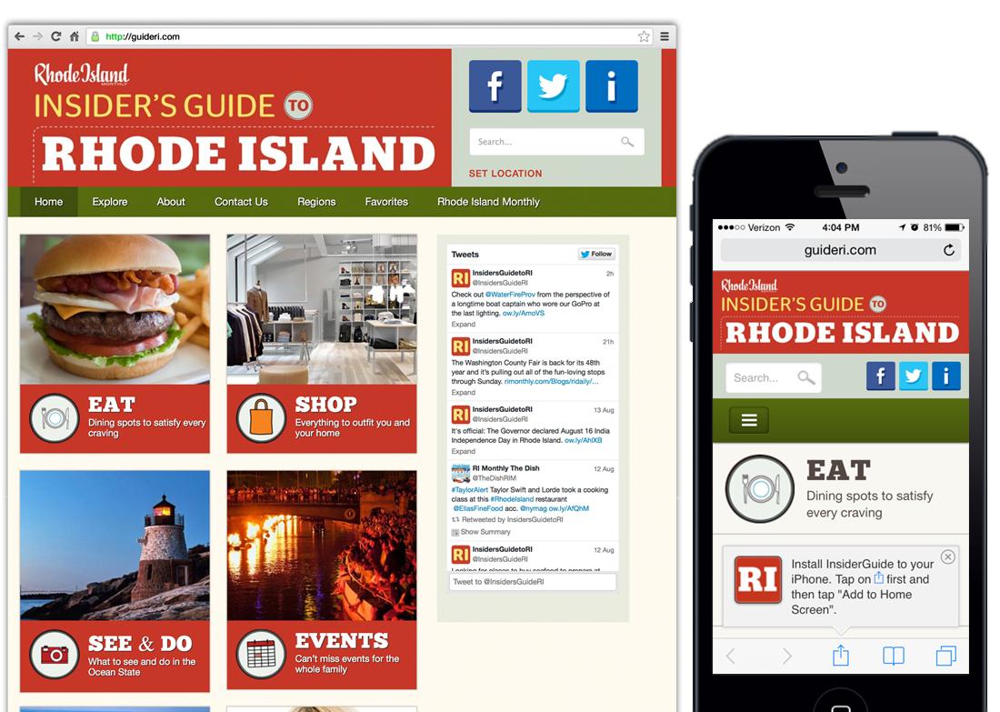 iPhone App WordPress website