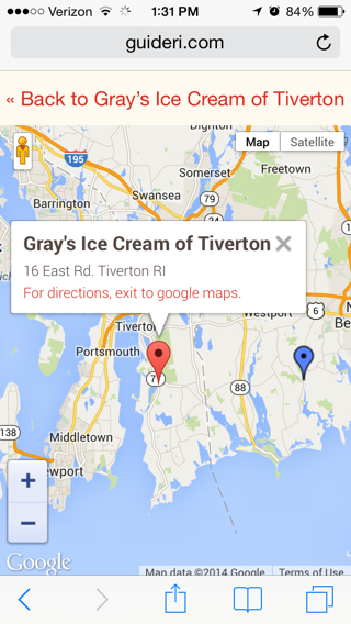 Google Maps Website Integration