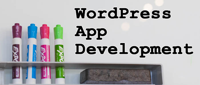 Create a WordPress App