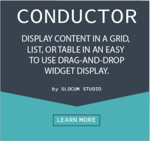 conductor by slocum