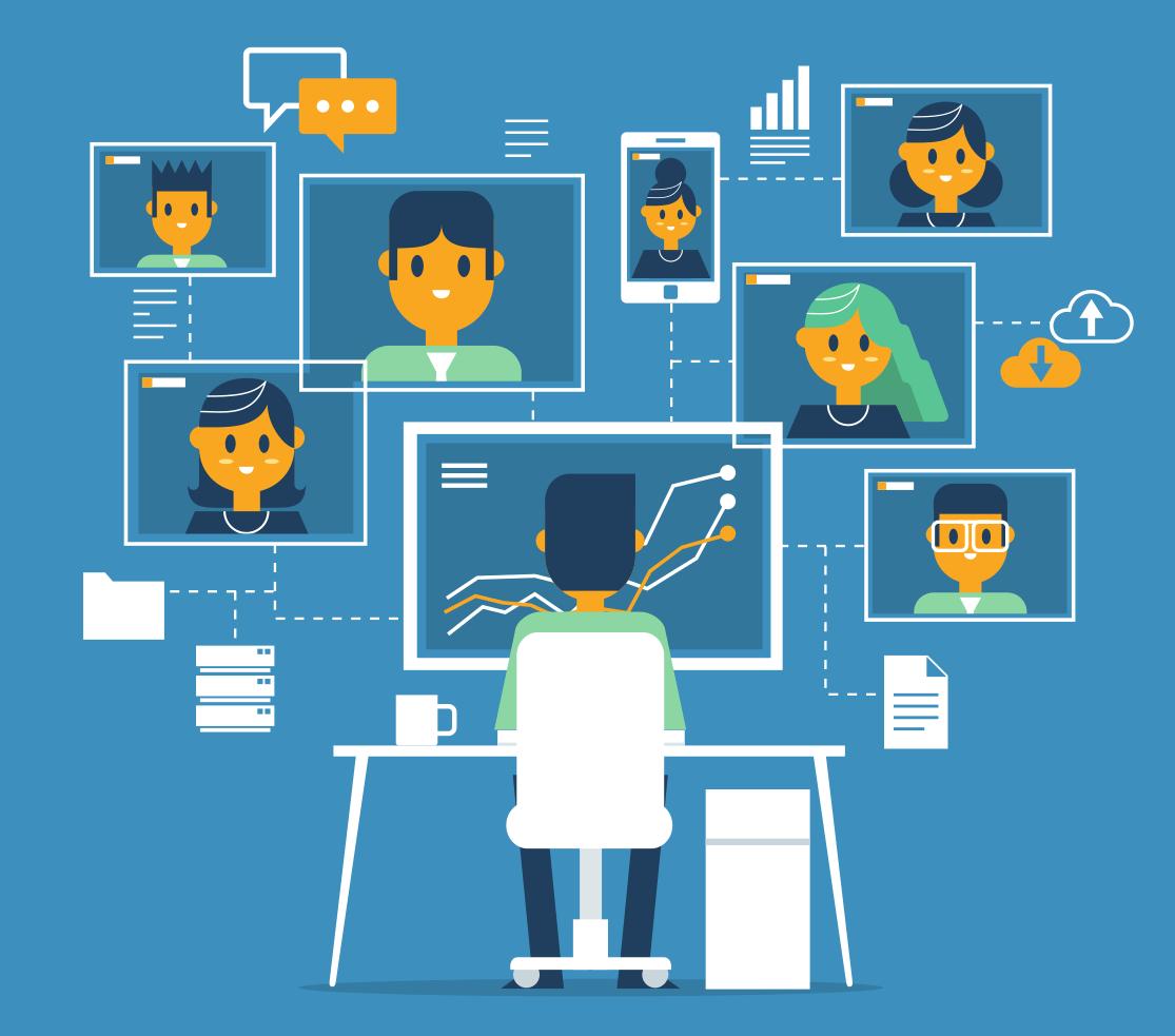 Cybersecurity Practices online working